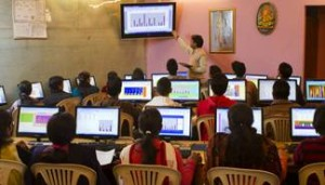 Young poor adults learning in India